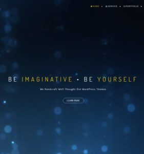 beonepage landing page template